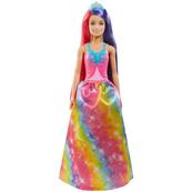 Lalka Barbie Dreamtopia Fantazja długie włosy Księżniczka GTF38 GTF37 MATTEL