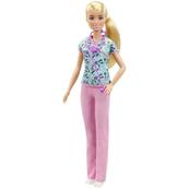 Lalka Barbie Kariera Pielęgniarka GTW39 DVF50 MATTEL