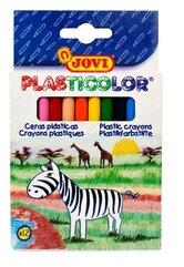 Kredki plastikowe okrągłe 12 kolorów JOVI