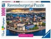 Puzzle 1000 Skandynawskie miasto widok