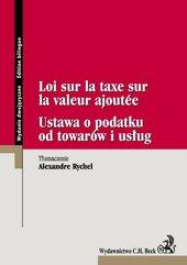 Vat ustawa o d towarów i usług Loi sur la taxe sur la valeur ajoutee