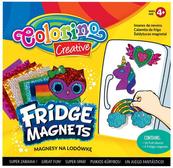 Magnesy na lodówkę mix 4 wzorów Colorino Creative new