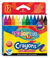Kredki świecowe 12 kol. Colorino Kids