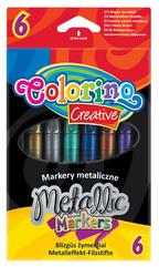 Markery metalizowane 6 kol. Colorino Kids 32582