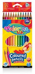 Kredki ołówkowe trójkątne 12 kol Colorino Kids new 51798