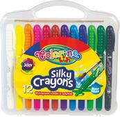 Kredki żelowe wykręcane 12 kolorów Colorino Kids 57271