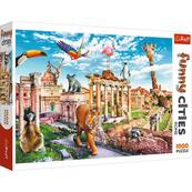 Puzzle 1000el Funny cities - Dziki Rzym TREFL