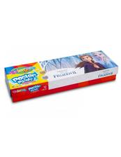 Farby plakatowe 12 kolorów 20ml Colorino Kids Frozen Kraina Lodu