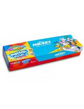 Farby plakatowe 12 kolorów 20ml Colorino Kids Mickey Myszka Miki