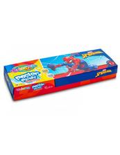 Farby plakatowe 12 kolorów 20ml Colorino Kids Spiderman