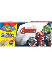 Plastelina 12 kolorów Colorino Kids Avengers