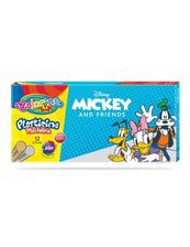 Plastelina 12 kolorów Colorino Kids Mickey
