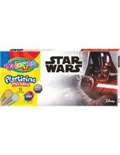 Plastelina 12 kolorów Colorino Kids Star Wars