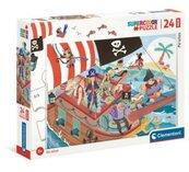 Puzzle 24 Maxi Piraci