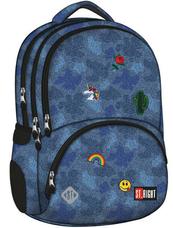 Plecak szkolny Stright BP-07 Jeans&Badges MAJEWSKI