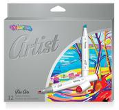 Markery do szkicowania ARTIST 12 kol. Colorino Kids