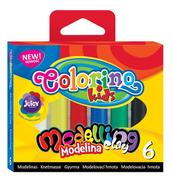 Modelina 6 kol. Colorino Kids