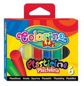 Plastelina 6 kol. Colorino Kids 13871