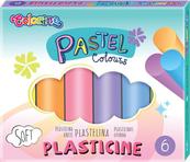 Plastelina 6 kolorów Pastel Colorino 84972