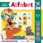 Alfabet. Smart Bingo. Gra edukacyjna. Kapitan Nauka