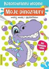 Kolorowanki wodne - Moje dinozaury