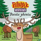 Żubr Pompik Wyprawy Tom 21 Poroże jelenia