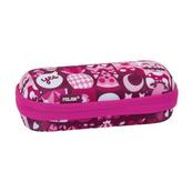 Piórnik owalny usztywniany HEY girl różowy 081145HYP MILAN