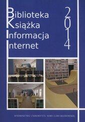 Biblioteka książka informacja internet 2014