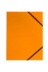 Teczka A4 z gumką narożną pomarańczowa p6, cena za 1szt.