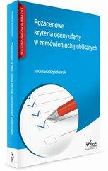Pozacenowe kryteria oceny ofert w zamówieniach publicznych