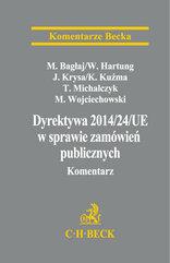 Dyrektywa Parlamentu Europejskiego i Rady 2014/24/UE w sprawie zamówień publicznych Komentarz