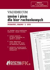 Vademecum umów i pism dla biur rachunkowych 2016