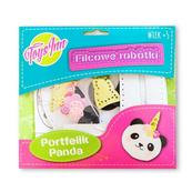 Filcowy portfelik Panda STN 6888