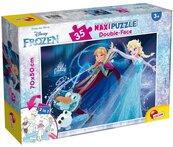 Puzzle dwustronne maxi Kraina Lodu 35
