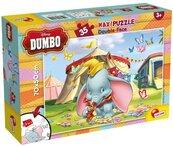 Puzzle dwustronne maxi Dumbo 35