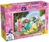Puzzle dwustronne Księżniczki 24