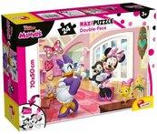 Puzzle dwustronne Supermaxi Minnie 24