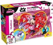 Puzzle dwustronne maxi Myszka Minnie 108