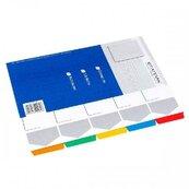 Przekładka A4 kartonowa 5 kolorów
