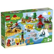 LEGO 10907 DUPLO Town Zwierzęta świata p3