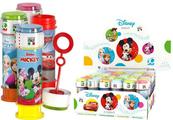 Bańki mydlane 60ml p36 Disney mix DULCOP Cena za 1szt