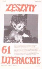 Zeszyty literackie 1/1998