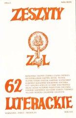 Zeszyty literackie 2/1998