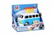 Bburago junior 85110 VW Samba z buźkami niebieski