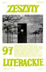Zeszyty literackie 97 1/2007