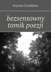 bezsensowny tomik poezji