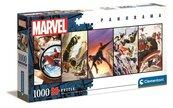 Puzzle 1000 Panorama Marvel