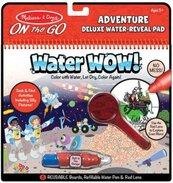 Kolorowanka wodna Water wow Deluxe Przygody