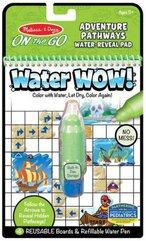 Kolorowanka wodna Water wow Przygody