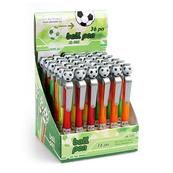 Długopis automatyczny STK-326 Goal p36 mix kolorów STARPAK, cena za 1szt.